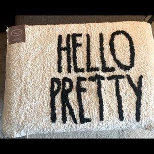 COPY - Rae Dunn  HELLO PRETTY Bathroom Mat